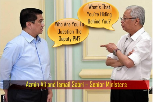 Rivalry - Azmin Ali and Ismail Sabri