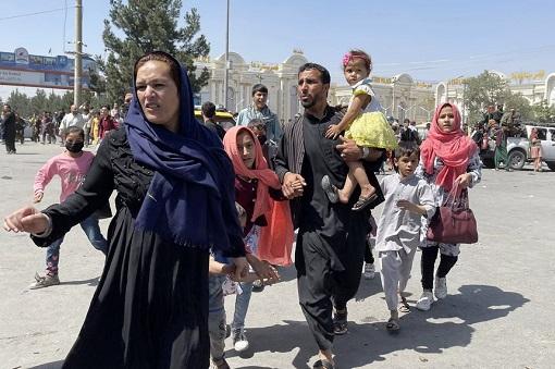Afghanistan People Fleeing After Talibans Captured Kabul