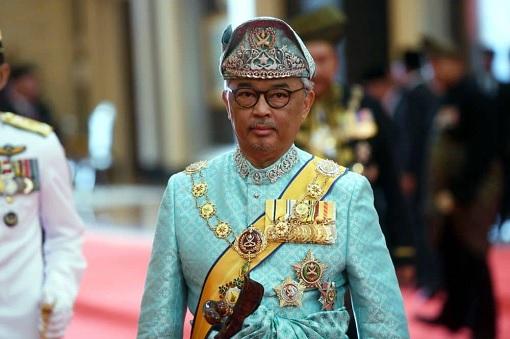 Agong King Sultan Abdullah - Blue