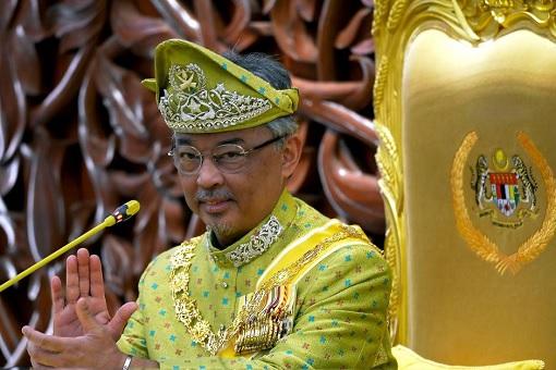Agong King Sultan Abdullah - Claps