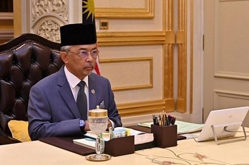 Agong King Sultan Abdullah - Desk