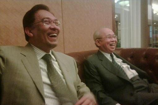 Anwar Ibrahim and Tengku Razaleigh