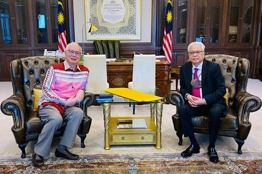 Najib Razak and Ismail Sabri