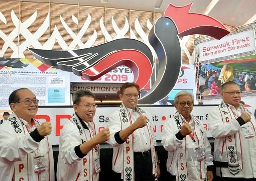 Sarawak-based GPS - Gabungan Parti Sarawak - Leaders