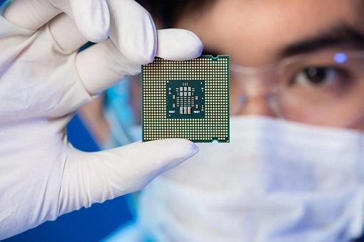 Semiconductor - Chip - Microprocessor