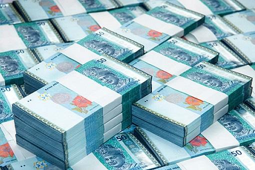 Stacks Of RM50 Ringgit Bill Notes - Money