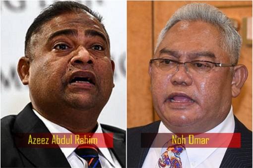 UMNO - Azeez Abdul Rahim and Noh Omar