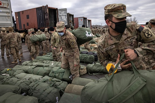 US Withdraw from Afghanistan - Troops