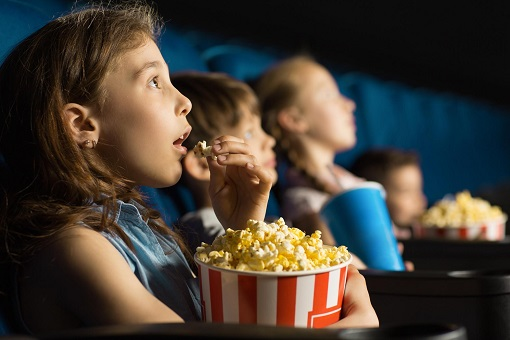 Watch Movie With Popcorn and Coke