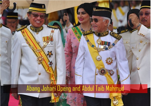 Abang Johari Openg and Abdul Taib Mahmud