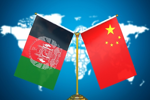 China-Afghanistan - Bilateral Ties - Flags