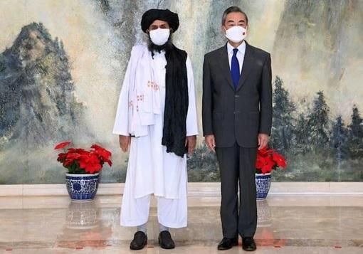 China Foreign Minister Met Afghanistan Leader Mullah Abdul Ghani Baradar