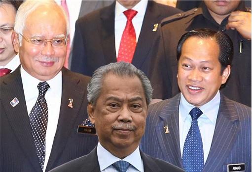 Economic Adviser Najib Razak - Deputy Speaker Ahmad Maslan - Muhyiddin Yassin