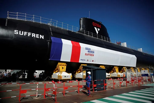 France Baraccuda-Class Submarine - Suffren