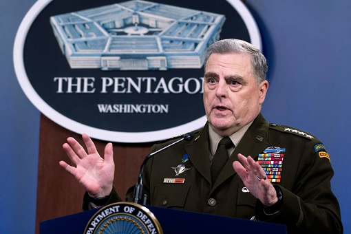General Mark A. Milley - Chairman of the Joint Chiefs of Staff