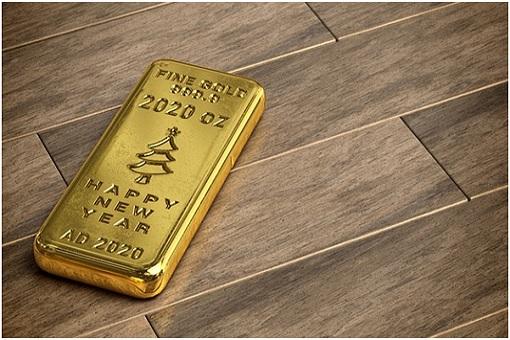 Gold Bar - Happy New Year