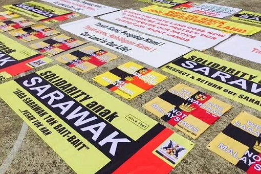 Justice for Sarawak - Banners