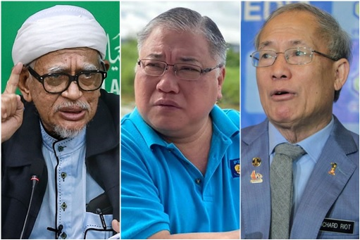 Special Envoy - Hadi Awang, Tiong King Sing and Richard Riot