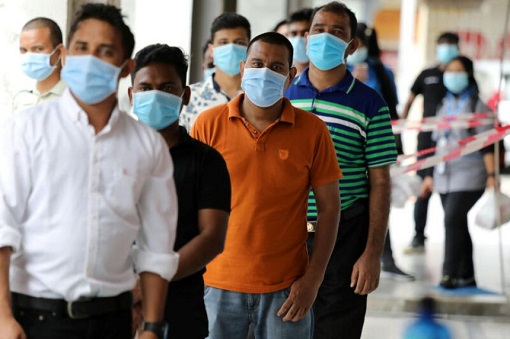 Coronavirus - Malaysia Foreign Workers Migrants - Covid-19 Vaccination