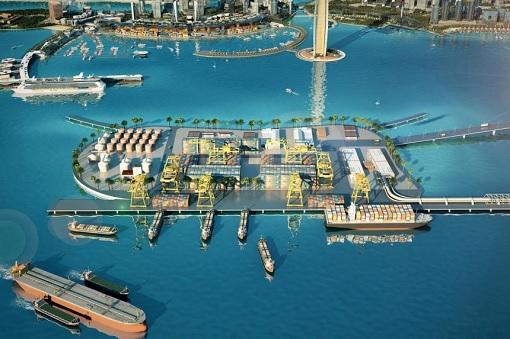 Melaka Gateway Project - Illustration