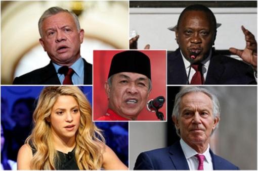 Pandora Papers - King Jordan, Shakira, Tony Blair, Uhuru, Zahid Hamidi