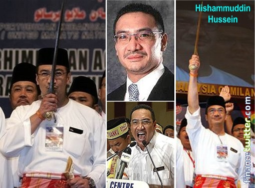 Missing MH370 - Hishammuddin Hussein Keris