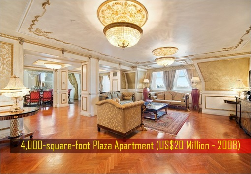 Maira Nazarbayeva and Daniyar - 4,000-square-foot Plaza Apartment US Dollar 20 Million