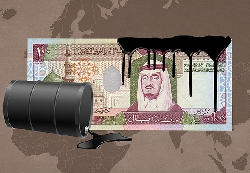 Saudi Arabia Oil Production - Oil on Currency
