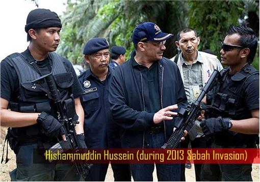 Hishammuddin Hussein - Sabah Invasion - Talking to Commandos