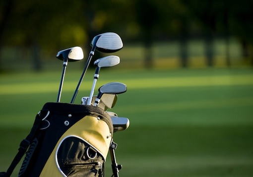 Golf Clubs at Golf Course