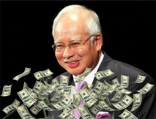 Najib Razak - Raining Money