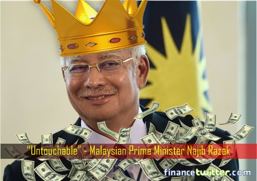 1MDB Scandal - Untouchable Emperor Najib Razak - Raining Money