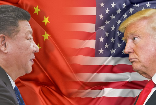 China vs United States - President Xi Jinping vs President Donald Trump