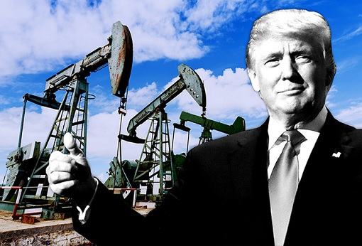 US Oil Production Shale Producers - President Donald Trump