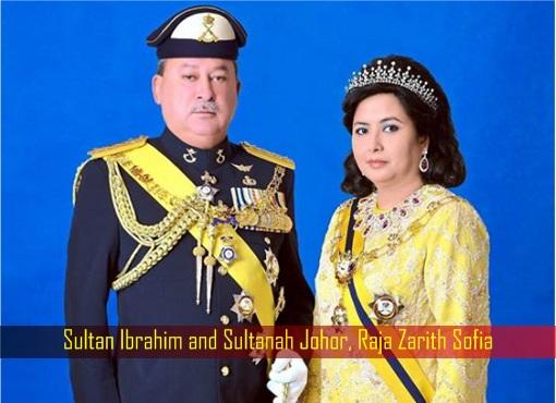 Sultan Ibrahim and Sultanah Johor, Raja Zarith Sofia