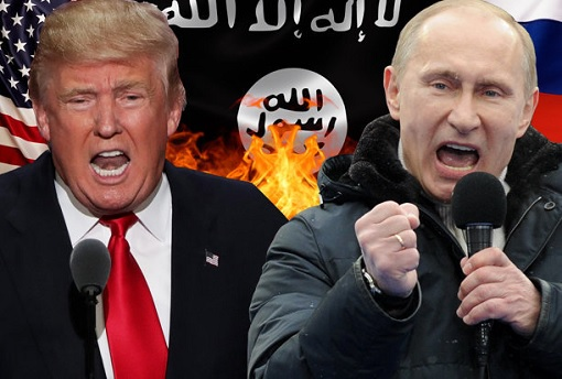 United States vs Russia - Donald Trump vs Vladimir Putin