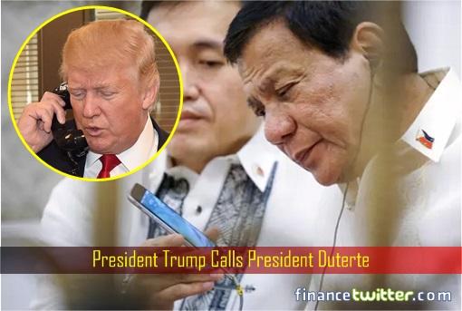 President Trump Calls President Duterte