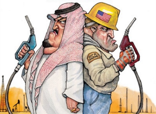 US vs OPEC - Sheikh vs Shale Driller - Gunfight