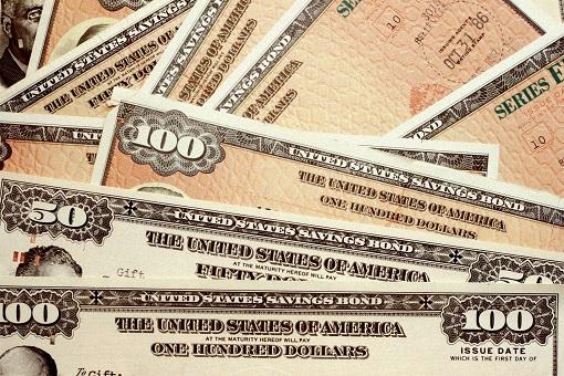 US Treasury Notes Bonds - IOU Debt Paper