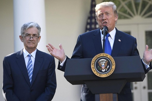 Jerome Powell - Federal Reserve Chairman - Nominated by President Donald Trump