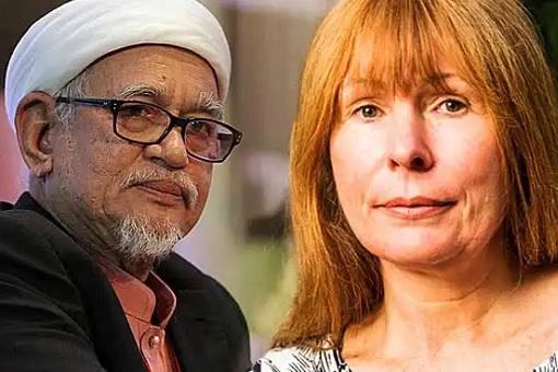 PAS Hadi Awang VS Sarawak Report Clare Rewcastle Brown