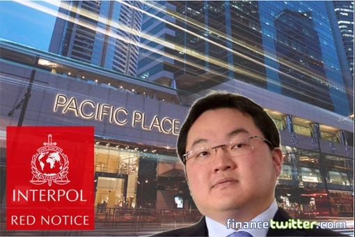 Fugitive Jho Low - Pacific Place Apartments in Admiralty Hong Kong - Interpol