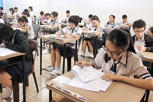 Students Sitting For UEC - Unified Examination Certificate