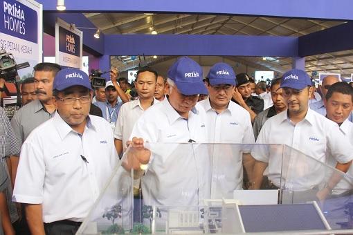 PRIMA PR1MA Homes - Jamaluddin Jarjis and Najib Razak