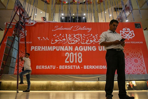 UMNO General Assembly 2018 - Preparation