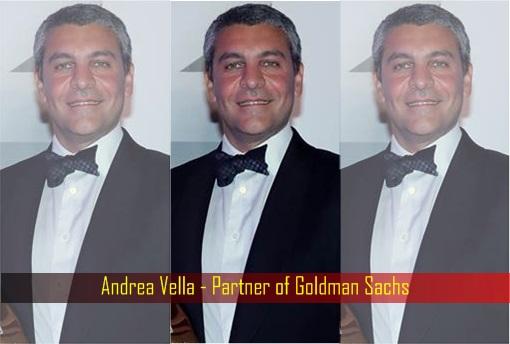Image result for Andrea Vella - Partner of Goldman Sachs