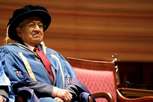 Mahathir Mohamad - Honorary Doctor of Laws - NUS National University of Singapore