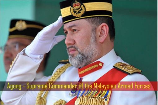 Agong - Supreme Commander of the Malaysian Armed Forces