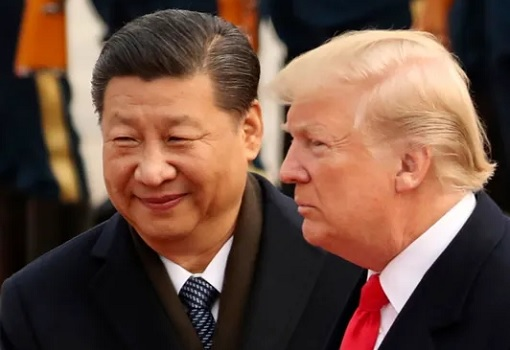 Chinese President Xi Jinping Meets US President Donald Trump