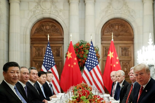 G20 Summit Argentina - Chinese President Xi Jinping Meets US President Donald Trump